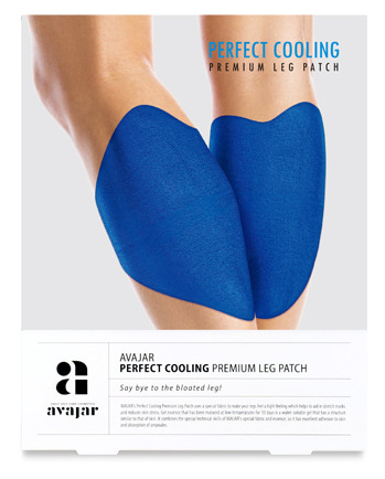 AVAJAR Патч охлаждающий для ног / Perfect Cooling Premium Leg Patch 1 шт