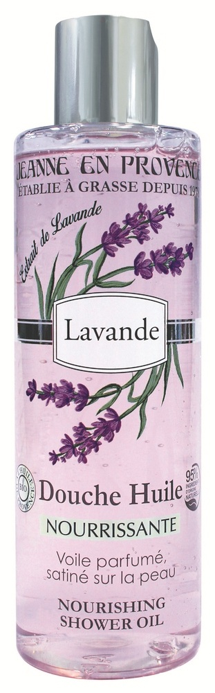 Купить JEANNE EN PROVENCE Масло питательное для душа Лаванда 250 мл