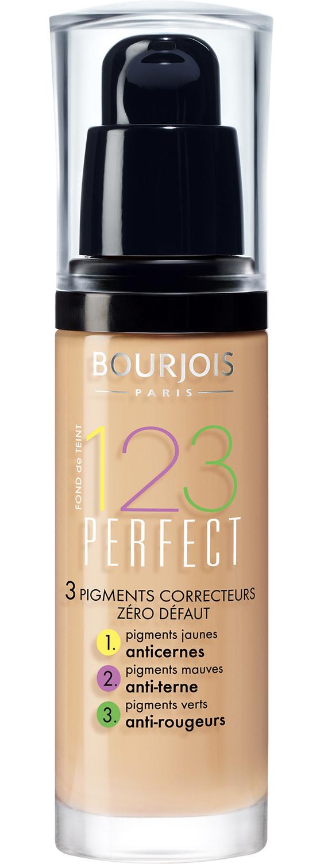 Bourjois крем тональный для лица, 51 светлая ваниль / 123 perfect new