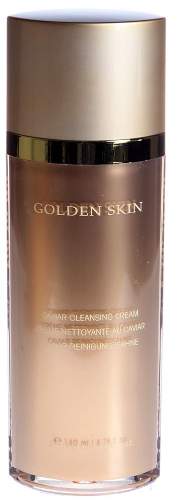 ETRE BELLE Очищающее молочко Золото + Икра / Golden Skin 140млМолочко<br>Очищающее молочко от Еtre-Вelle Cosmetics &amp;ndash; лучшее средство в уходе за кожей 30+, которая в этом возрасте требует стимуляции процессов восстановления, что и обеспечивает очищающее молочко от Еtre Вelle Cosmetics. В него входят активные компоненты (кислород и цитопетиды), икра осетровых рыб, отлично стимулирующая процессы регенерации клеток кожи. Активные ингредиенты: Витамин Е, витамин А, конский каштан, гликопротеины, икра осетровых рыб. Способ применения: Необходимо наносить утром и вечером на предварительно очищенную кожу. Для лучшего эффекта рекомендуется наносить на кожу гель-уход 24 часа &amp;laquo;Золото + Икра&amp;raquo;.<br><br>Время применения: 24 часа