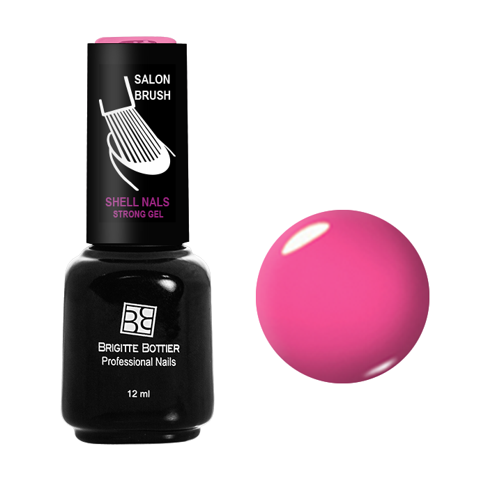 BRIGITTE BOTTIER 991 гель-лак для ногтей Летний розовый / Shell Nails 12мл