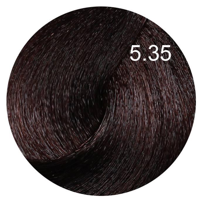 FARMAVITA 5.35 краска для волос, светло-каштановый шоколадный / B.LIFE COLOR 100 мл