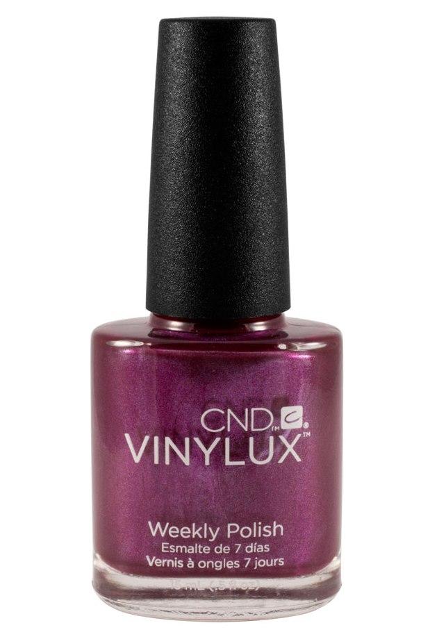 CND 169 лак недельный для ногтей / Tango Passion VINYLUX 15 мл cnd vinylux цвет tango passion 15 ml