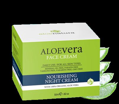 MADIS Крем ночной питательный / AloeNatura 50 млКремы<br>Содержит органическое оливковое масло, миндальное масло, подсолнечное масло, активный экстракт органическое алоэ-вера и витамины, которые глубоко увлажняют кожу, помогая поддерживать ее упругость и эластичность, задерживая развитие морщин. Активные ингредиенты: алоэ вера. Способ применения: ежедневно.<br><br>Объем: 50 мл<br>Вид средства для лица: Питательный<br>Назначение: Морщины<br>Время применения: Ночной