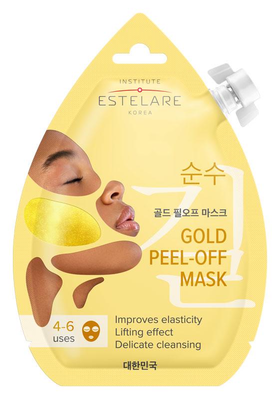 Купить ESTELARE Маска-пленка контурирующая золотая для лица / Estelare 20 мл