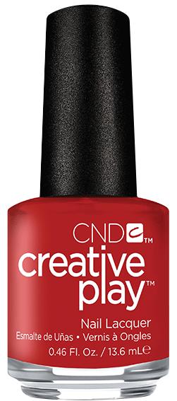 CND 412 лак для ногтей / Red y to Roll CREATIVE PLAY 13,6 мл