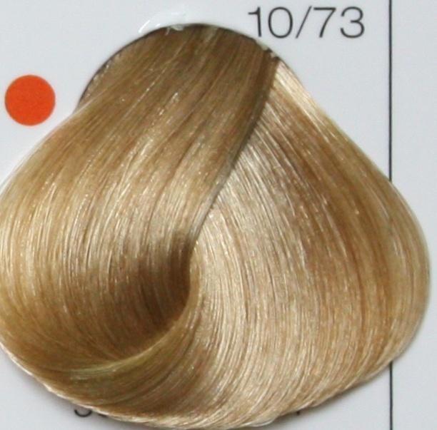 LONDA PROFESSIONAL 10/73 Краска для волос LC NEW инт.тонирование яркий блонд коричнево-золотистый, 60мл