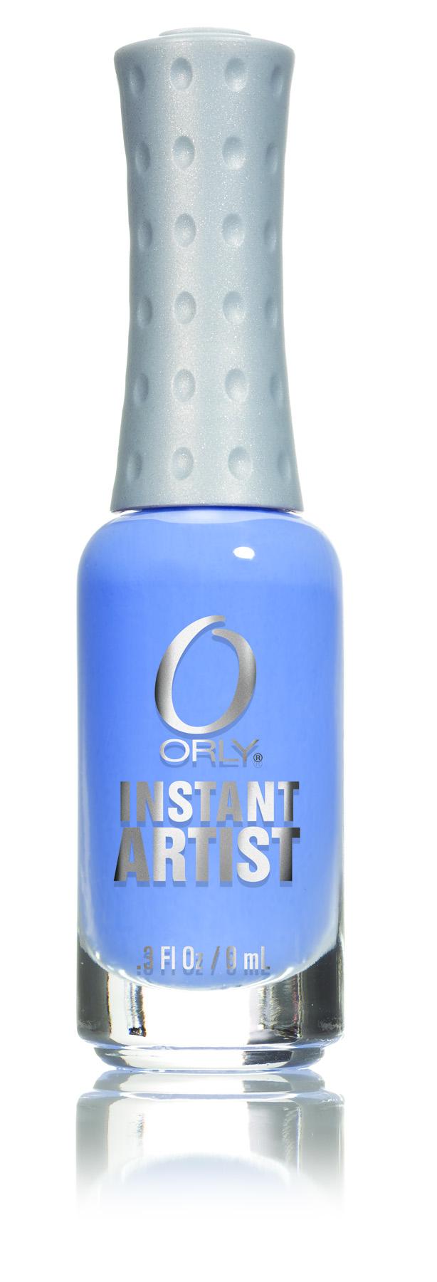 ORLY Краска для дизайна ногтей 12 Sky Blue / Instant Artist 9мл