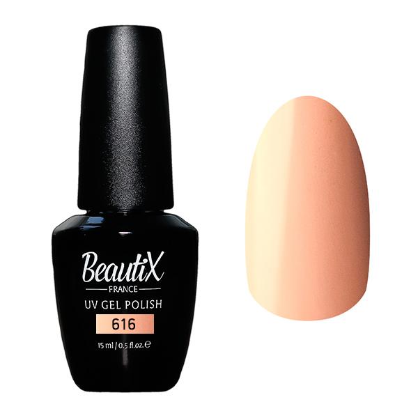 Купить BEAUTIX 616 гель-лак для ногтей 15 мл, Розовые