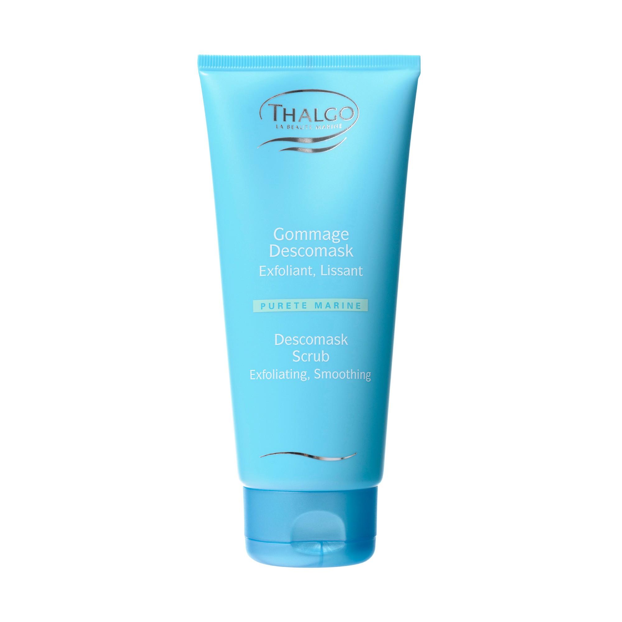 THALGO Скраб для тела / Descomask Body Scrub 500млСкрабы<br>Удаляет отмершие клетки, смягчает огрубевшую кожу, оставляет кожу мягкой и сияющей. Нежно отшелушивает ороговевшие клетки и оставляет кожу более мягкой и восприимчивой к препаратам последующего ухода. Активные ингредиенты: Экстракт водоросли Хондрус криспус, рускус, мальва, микросферы. Способ применения: Наносите на сухую или влажную кожу 1-2 раза в неделю, массируйте круговыми движениями, уделяя особое внимание огрубевшим участкам (локти,колени,ступни), тщательно смойте.<br>