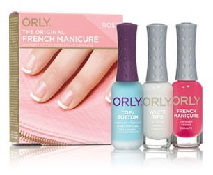ORLY ����� ��� ������������ �������� / FRENCH MAN KIT ROSE .3oz 9��