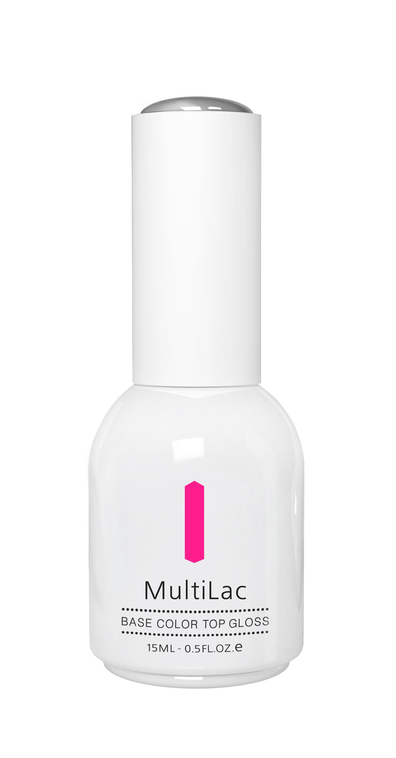 RuNail Гель-лак Розовый неон / MultiLac Pink Neon 15 мл runail гель лак multilac розовый виноград