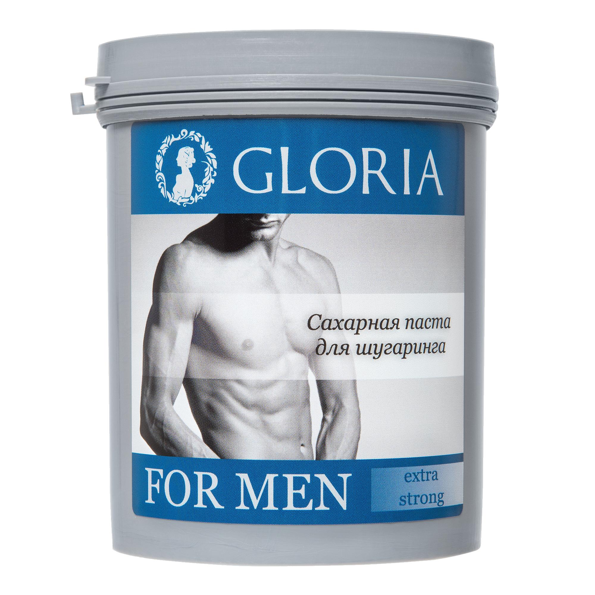 GLORIA Паста сахарная для депиляции FOR MEN Extra Strong / GLORIA, 0,8 кг