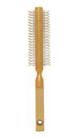 TITANIA Брашинг T ручка рифл. 35мм / TITANIAБрашинги<br>Прекрасный брашинг для укладки волос феном. Удобная ручка не скользит в руке.<br>