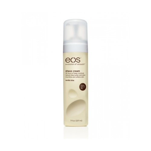 EOS Крем для бритья тела для женщин Ваниль / Eos Vanilla Bliss 207млКремы<br>Супер-нежный увлажняющий крем для бритья с расслабляющими ароматом ванили. Богатый питательными компонентами, непенящийся крем для бритья с содержанием масла ши и антиоксидантных витаминов Е и С. Обеспечивает 24 часа ультра-успокаивающей влаги. Смягчает, защищает кожу от царапин при бритье. Особенности: 96% натуральная формула Делает кожу мягкой и гладкой Повышает уровень влаги кожи Способ применения: вы можете наносить крем как на сухую, так и на влажную кожу.<br><br>Объем: 207 мл<br>Вид средства для тела: Увлажняющий
