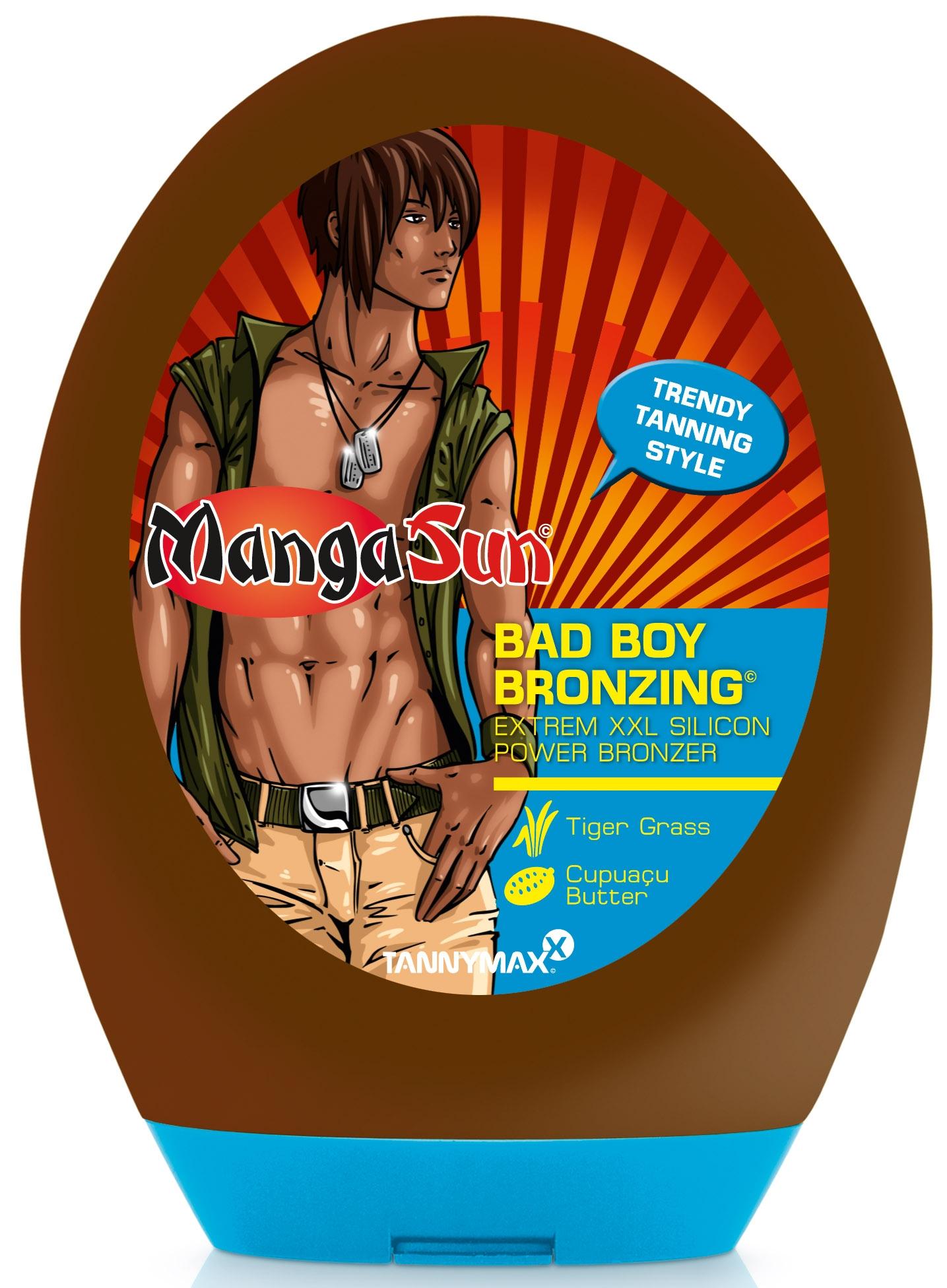 TANNYMAXX Лосьон с бронзатором для загара в солярии (для мужчин) / Bombastic Tanpower MANGA SUN 250мл