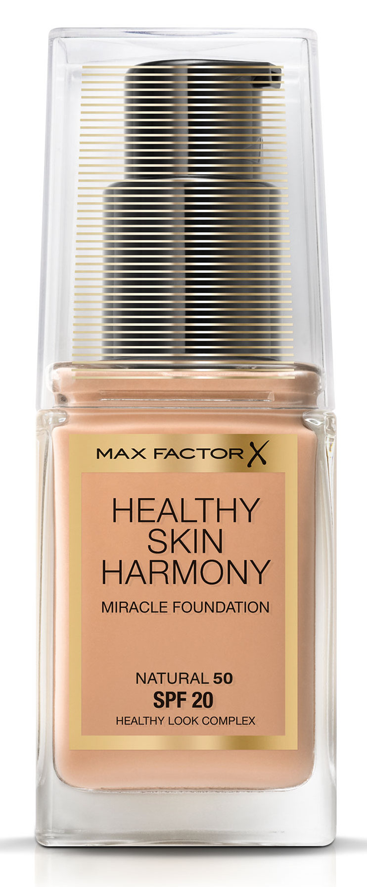 MAX FACTOR Основа тональная 50 / Healthy Skin Harmony Miracle Foundation natural