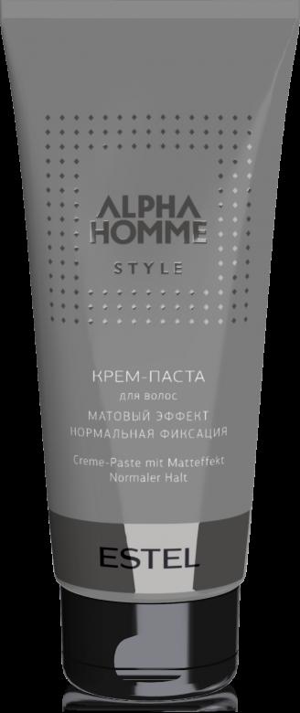 ESTEL PROFESSIONAL Крем-паста с матовым эффектом для волос / ALPHA HOMME 100 г