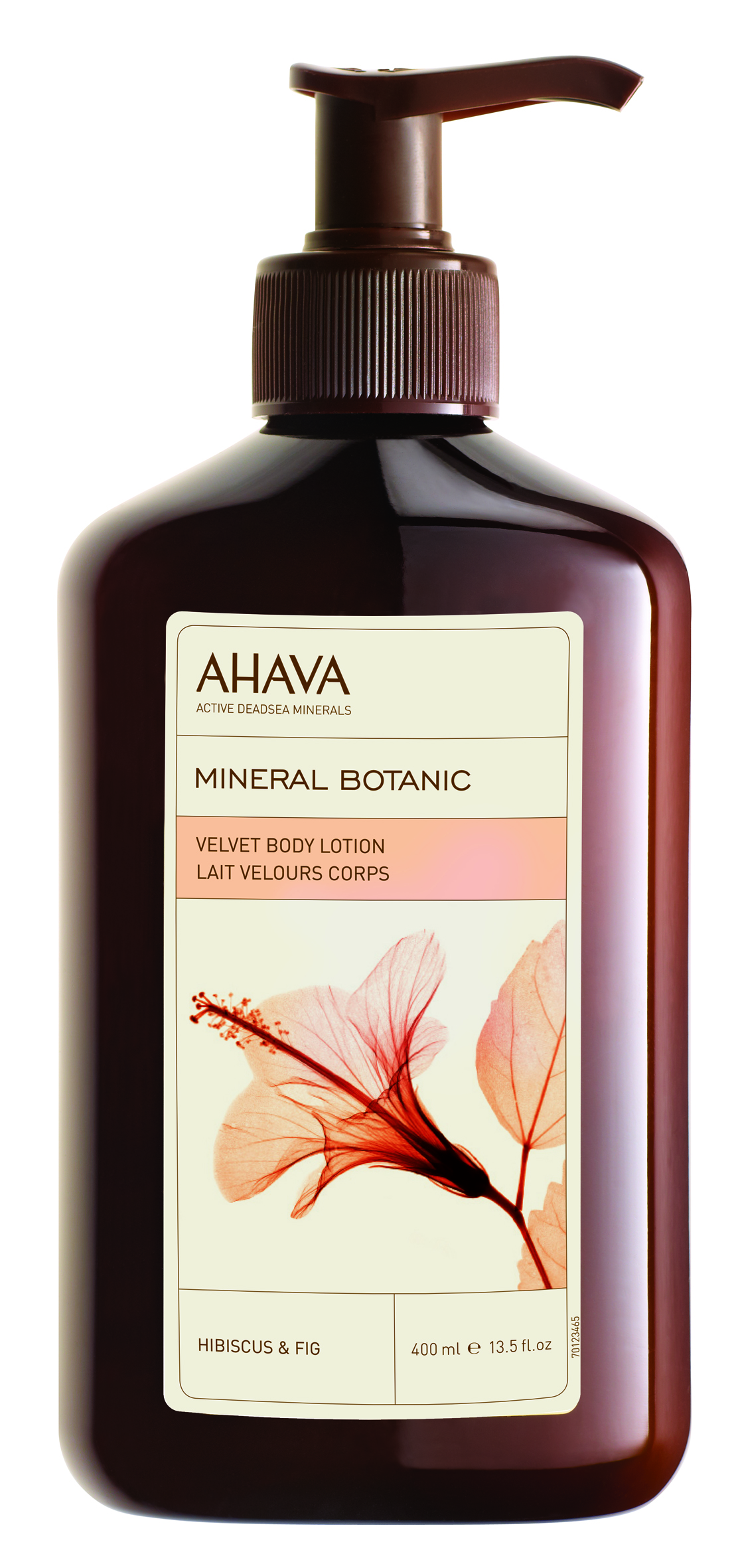 AHAVA Крем бархатистый для тела, гибискус и инжир / Mineral Botanic 400 мл