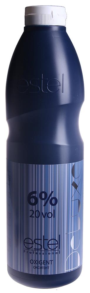 ESTEL PROFESSIONAL Оксигент 6% / DE LUXE 900млОкислители<br>Специально разработанный стабилизированный оксигент в виде эмульсии молочного цвета. Позволяет доcтичь наилучших результатов с крем-красками ESTEL DE LUXE. Способ применения: добавить к крем-краске ESTEL DE LUXE нужное количество оксигента, перемешать, нанести на волосы.<br><br>Содержание кислоты: 6%