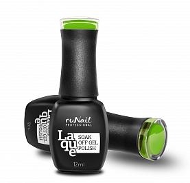 RuNail Гель-лак Зеленая виноградина / Laque 12мл runail дизайн для ногтей слюда 0336