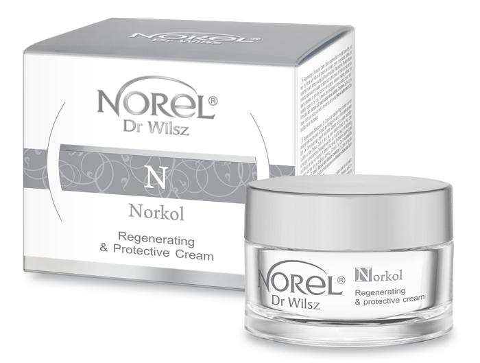 NOREL Dr. Wilsz Крем защитный антивозрастной, восстанавливающий для сухой кожи / Norkol Regenerating  protective cream 50 мл