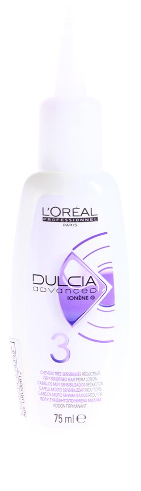 LOREAL PROFESSIONNEL Лосьон  3 для сильно чувствительных волос / ДУЛЬСИЯ ЭДВАНСТ Ионен G 75мл