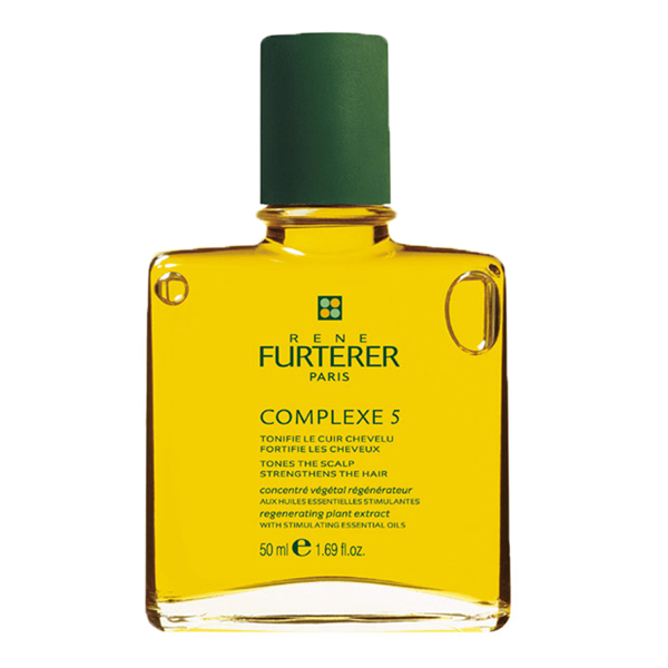 RENE FURTERER Концентрат стимулирующих эфирных масел для волос / Complex 5 50мл от Галерея Косметики