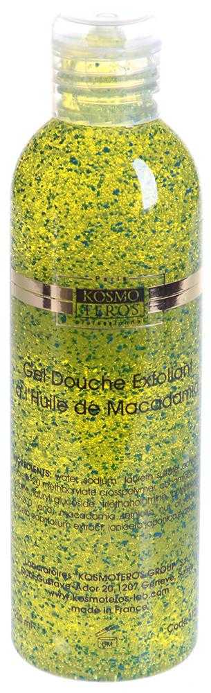 KOSMOTEROS PROFESSIONAL PARIS Гель специальный активный для душа с маслом макадамии 200мл
