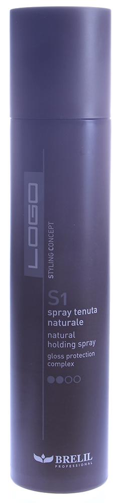 BRELIL Лак сухой для волос нормальной фиксации / Logo S1 300мл