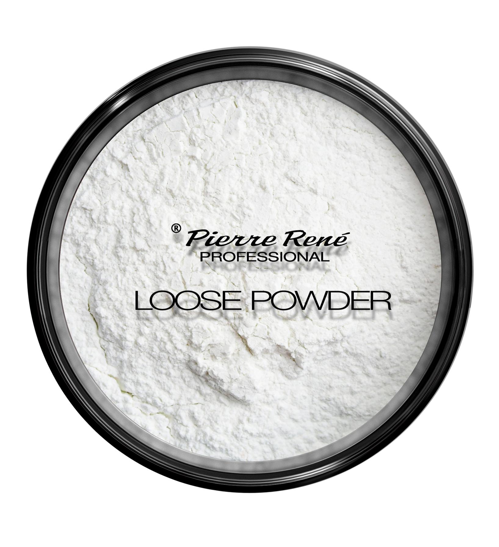 PIERRE RENE PROFESSIONAL Пудра транспарентная на минеральной основе, 00 прозрачная / Loose Rice Powder 7 г