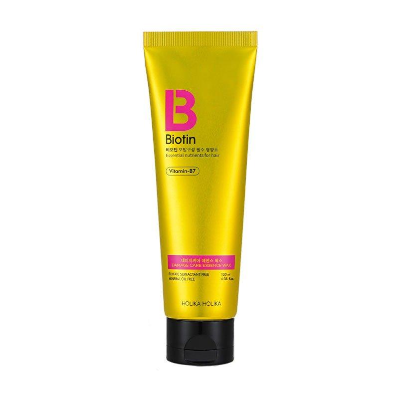 HOLIKA HOLIKA Эссенция-воск для поврежденных волос Биотин / Biotin Damage Care Essence Wax 120 мл - Воски