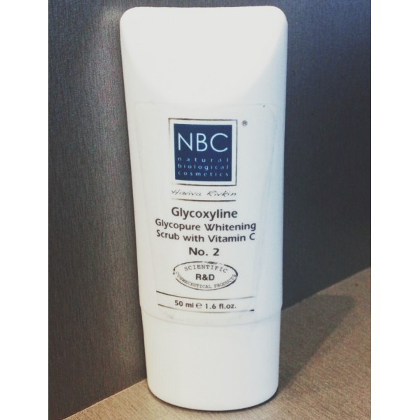 NBC Haviva Rivkin Скраб-маска отбеливающая / Glycoxyline Glycopure Whitening Scrub, 50 мл от Галерея Косметики