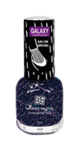 BRIGITTE BOTTIER Лак GALAXY тон GC 11 мерцающий космос / GALAXY 12млЛаки<br>Лаки с 3D-эффектом серии Brigitte Bottier Galaxy- это глиттерные лаки( лаки с блестками). Самый горячий тренд среди сияющих лаков. Их стойкости могут позавидовать даже их гелевые собратья. В зависимости от базового цвета, плотности блесток и их величины, такой лак может быть топовым покрытием, создающим эффектный маникюр, а может использоваться самостоятельно. Лаки-глиттеры великолепно смотрятся в дуэте с классическими вариантами в технике французского маникюра, где на кончик ногтя наносится лак с хорошей плотностью блесток. Для лаков серии Brigitte Bottier была специально разработана не только специальная стойкая формула , но и особая форма кисточки - широкая, плоская и округлая, позволяющая легко и аккуратно наносить лак сразу на всю поверхность ногтя, не испачкав кутикулы одним взмахом! Активные ингредиенты. Состав: бутилацетат, этилацетат, нитроцеллюлоза, ацетил трибутил цитрат, адипиновая кислота/неопентил гликоль/триметиловый сополимер ангидрида, спирт изоприловый, стирол/ сополимер акрилат, стеаралкониум бетонит, силика, Н-бутиловый спирт, бензофенон-1, диацетоновый спирт, триметилпентанедил дибензоата, полиэтилен, фосфорная кислота. Способ применения: лак наносится на ногти в 1-2 слоя в зависимости от желаемого результата. Рекомендуется применять суперсушку, которая также включена в серию Galaxy в дополнение к палитре глиттерных лаков для ускорения высыхания и выравнивания поверхности ногтя.<br><br>Цвет: Синие<br>Виды лака: С блестками