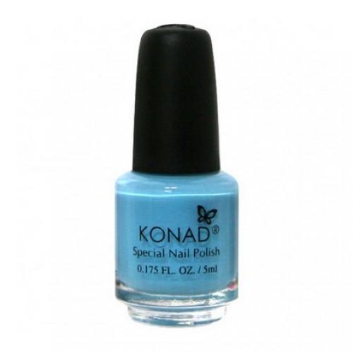 KONAD Лак на акриловой основе для стемпинга, пастельно-голубой S20 5 мл повседневный лак konad regular nail polish konad psyche green