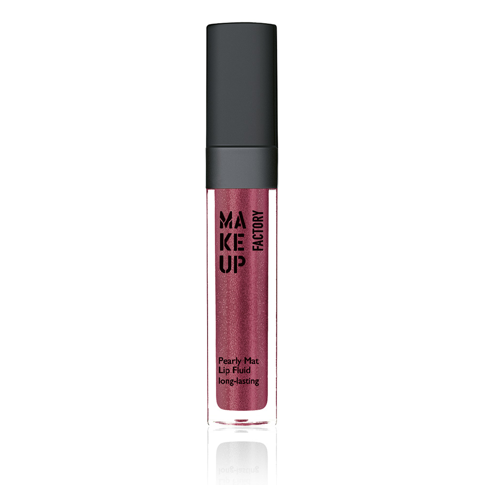 MAKE UP FACTORY Блеск-флюид перламутровый матовый устойчивый, 32 красная медь / Pearly Mat Lip Fluid 6,5 мл помада make up factory make up factory ma120lwhdq61