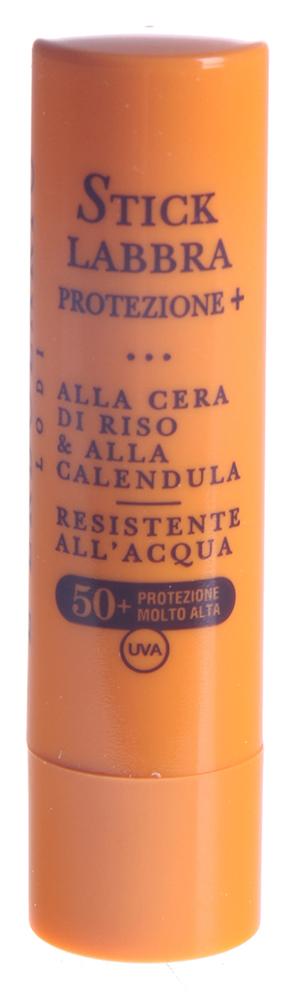 LERBOLARIO Cолнцезащитный карандаш для губ с рисовым воском и календулой SPF 50+ 4,5млКарандаши<br>Солнцезащитный карандаш для лица и тела с рисовым воском и макадамией SPF 50+ от L`Erbolario - эффективное косметическое средство полной защиты особой формы. Карандаш предназначен для защиты самых чувствительных участков лица и тела, таких, как веки, нос, грудь и уши. Средство приятное на коже, мягкое и практичное. После его нанесения кожа станет бархатистой и матовой, как после нанесения самого лучшего крема для кожи. Благодаря содержащимся в составе солнцезащитного карандаша антиоксидантам и увлажняющим веществам, это косметическое средство не только обеспечит эффективную защиту от солнечных лучей, но и позаботится о сохранении здоровья и красоты кожи. Средство остаётся невидимым даже после того, как Вы нанесли его несколько раз на самые нежные участки кожи лица и тела, не оставляет после себя жирного блеска. Очень высокая степень защиты - SPF 50+.&amp;nbsp; Активные ингредиенты: Рисовый воск, масло макадамии, Гамма Оризанол, витамин Е ацетат, водоросль Кораллина лечебная.&amp;nbsp; Способ применения: Достаточно просто провести солнцезащитным карандашом для лица и тела с рисовым воском и макадамией SPF 50+ от L`Erbolario по тем местам, которые Вы желаете защитить от солнечных лучей. Стоит помнить, что нежелательно допускать замерзания или излишнего нагрева карандаша. Свойств это его не снизит, но пользоваться им будет уже не так приятно.<br>