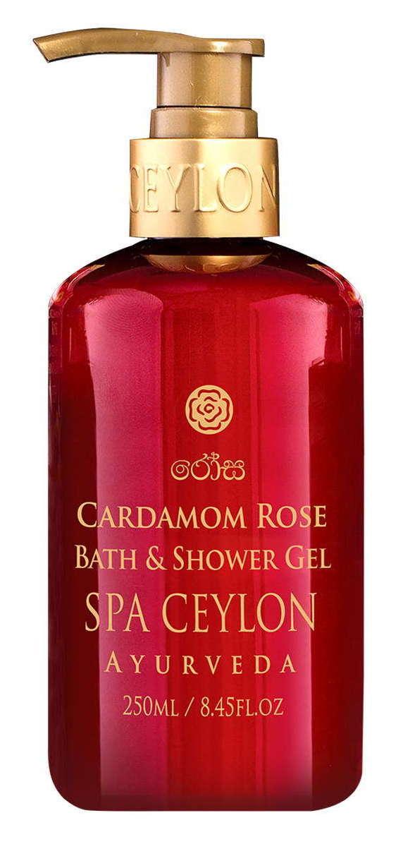 Купить SPA CEYLON Гель для ванны и душа Роза и кардамон 300 мл