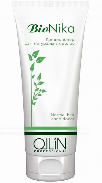 OLLIN PROFESSIONAL Кондиционер для натуральных волос / Conditioner BioNika 200млКондиционеры<br>Кондиционер надолго сохраняет мягкость и ухоженный вид волос, защищает кожу головы и препятствует потере влаги. Волосы становятся более сильными и перестают сечься. Активные ингредиенты: экстракт конского каштана, провитамин B5, фосфолипиды. Способ применения: вымыть голову шампунем, рекомендуется шампунь для натуральных волос Ollin Bionika Argan Oil Shine &amp;amp; Brilliance Shampoo. Массирующими движениями нанести на вла жные волосы. Оставить на пару минут для воздействия. Хорошо смыть.<br><br>Назначение: Секущиеся кончики
