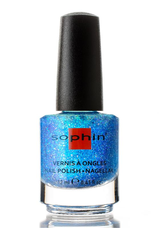 SOPHIN Лак для ногтей CRUISE SHOW, топовое покрытие, в прозрачной базе 12мл