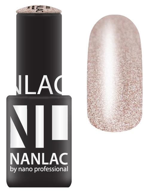 NANO PROFESSIONAL 2036 гель-лак для ногтей, город загадок / NANLAC 6 мл