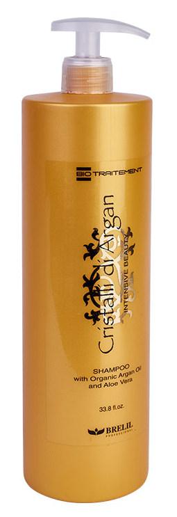 Купить BRELIL professional Шампунь для создания интенсивной красоты, объема и блеска волос Кристаллы Аргании / Biotraitement Cristalli di argan 1000 мл