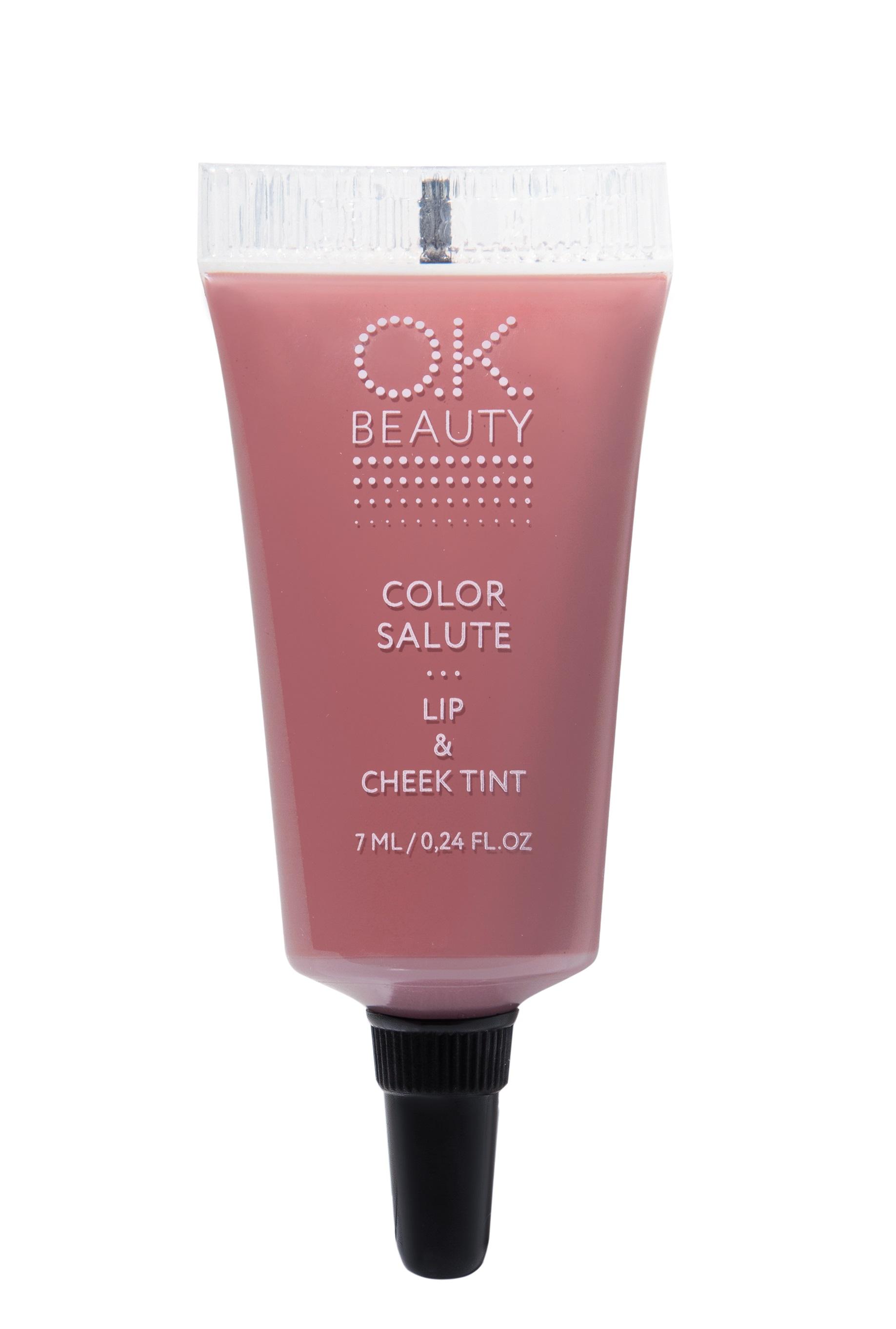 Купить OK BEAUTY Пигмент стойкий для губ и щек, Cocoa / COLOR SALUTE LIP & CHEEK TINT 7 мл