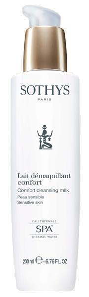 Купить SOTHYS Молочко очищающее с экстрактом хлопка и термальной водой для чувствительной кожи / ESSENTIAL PREPARING TREATMENTS 200 мл