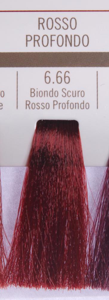BAREX 6.66 краска для волос / PERMESSE 100млКраски<br>Оттенок: Темный блондин красный глубокий. Профессиональная крем-краска Permesse отличается низким содержанием аммиака - от 1 до 1,5%. Обеспечивает блестящий и натуральный косметический цвет, 100% покрытие седых волос, идеальное осветление, стойкость и насыщенность цвета до следующего окрашивания. Комплекс сертифицированных органических пептидов M4, входящих в состав, действует с момента нанесения, увлажняя волосы, придавая им прочность и защиту. Пептиды избирательно оседают в самых поврежденных участках волоса, восстанавливая и защищая их. Масло карите оказывает смягчающее и успокаивающее действие. Комплекс пептидов и масло карите стимулируют проникновение пигментов вглубь структуры волоса, придавая им здоровый вид, блеск и долговечность косметическому цвету. Активные ингредиенты:&amp;nbsp;Сертифицированные органические пептиды М4 - пептиды овса, бразильского ореха, сои и пшеницы, объединенные в полифункциональный комплекс, придающий прочность окрашенным волосам, увлажняющий и защищающий их. Сертифицированное органическое масло карите (масло ши) - богато жирными кислотами, экстрагируется из ореха африканского дерева карите. Оказывает смягчающий и целебный эффект на кожу и волосы, широко применяется в косметической индустрии. Масло карите защищает волосы от неблагоприятного воздействия внешней среды, интенсивно увлажняет кожу и волосы, т.к. обладает высокой степенью абсорбции, не забивает поры. Способ применения:&amp;nbsp;Крем-краска готовится в смеси с Молочком-оксигентом Permesse 10/20/30/40 объемов в соотношении 1:1 (например, 50 мл крем-краски + 50 мл молочка-оксигента). Молочко-оксигент работает в сочетании с крем-краской и гарантирует идеальное проявление краски. Тюбик крем-краски Permesse содержит 100 мл продукта, количество, достаточное для 2 полных нанесений. Всегда надевайте подходящие специальные перчатки перед подготовкой и нанесением краски. Подготавливайте смесь крем-краски и молочка-оксигента Permes