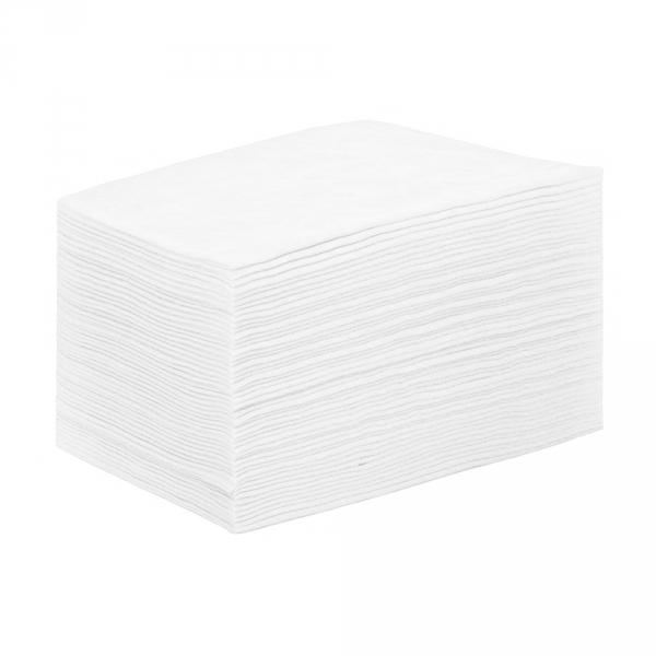 IGRObeauty Простыня 80*200 см 12 г/м2 SMS, цвет белый 50 шт - Одноразовые простыни