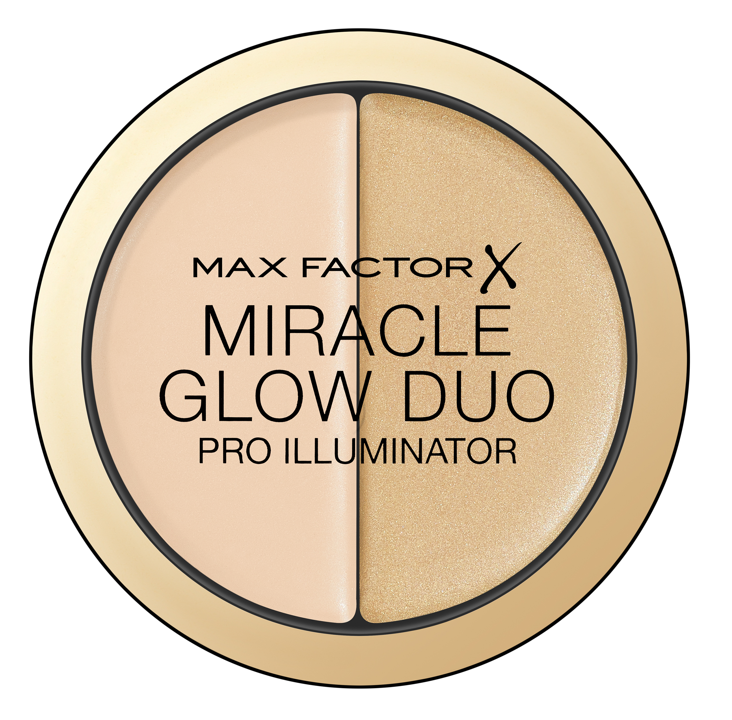 MAX FACTOR Хайлайтер 10 / Miracle Glow Duo light - Особые средства