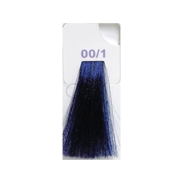 LISAP MILANO 00/1 краска для волос (синий) / LK ANTIAGE 100мл