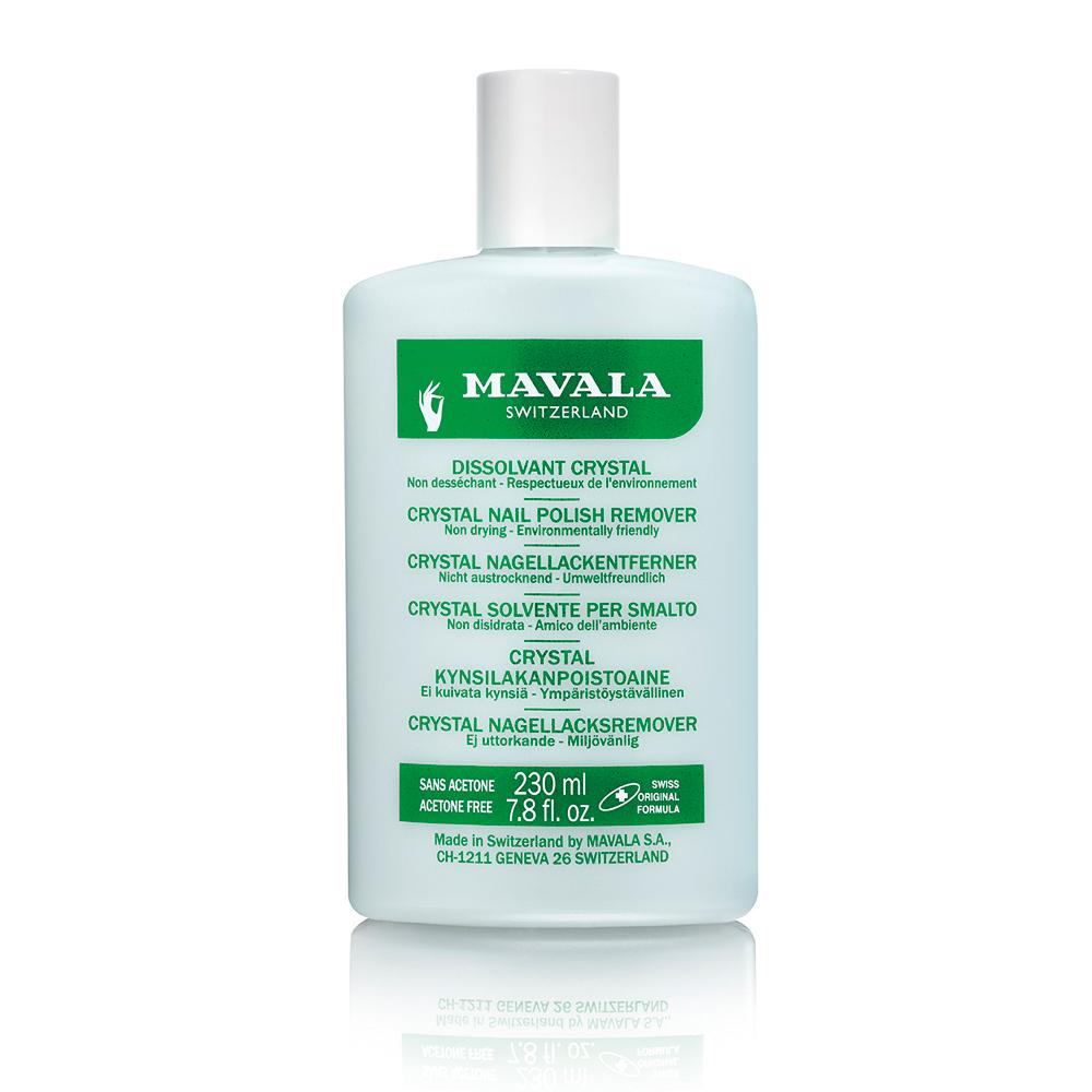 Купить MAVALA Жидкость для снятия лака профессиональная Кристал / Nail Polish Remover Crystal 230 мл