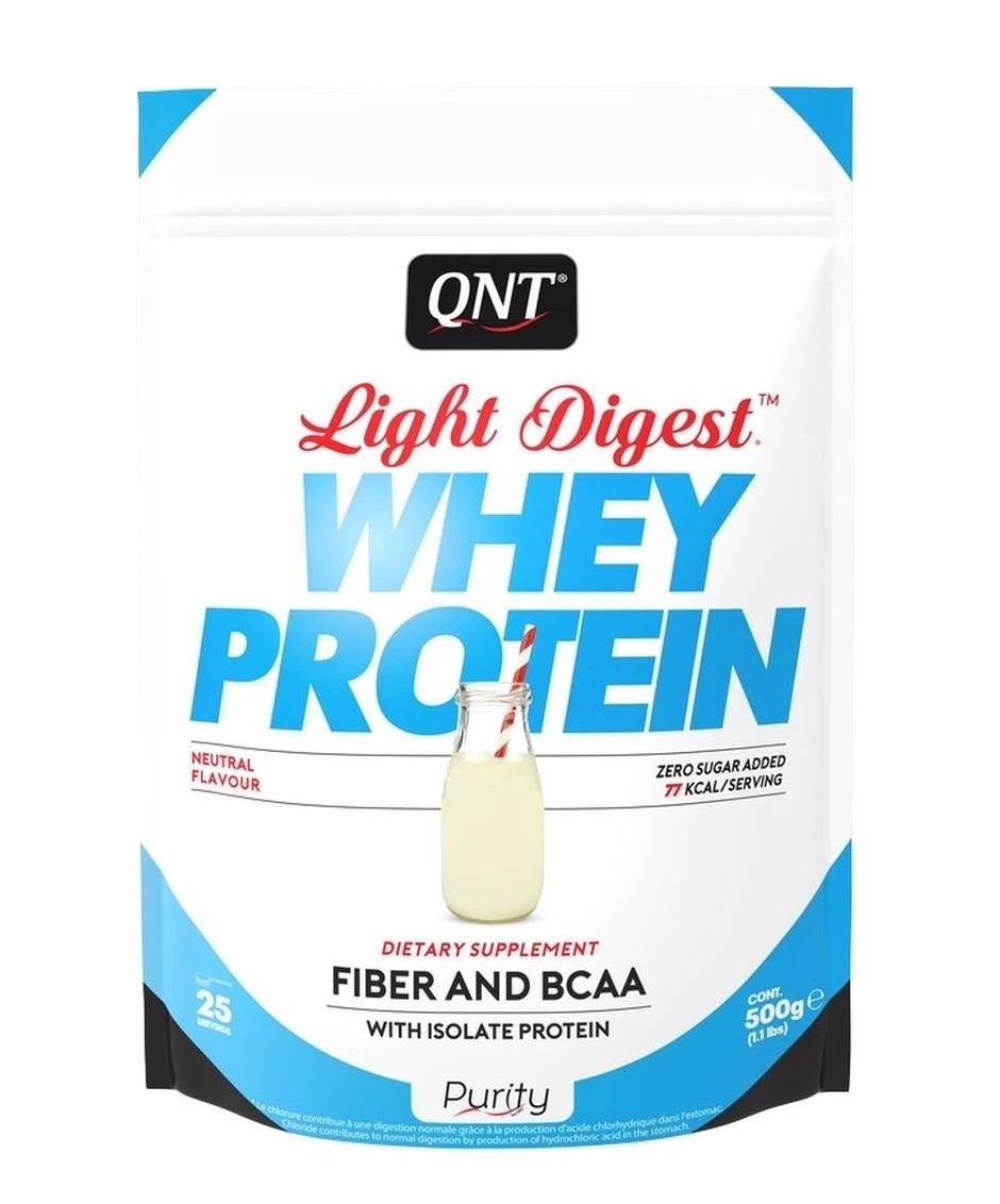 Купить QNT Добавка биологически активная к пище Лайт дайджест вей протеин, нейтральный / LIGHT DIGEST WHEY PROTEIN Neutral 500 г